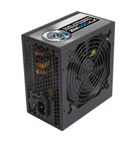 ZALMAN ZM600-LX, zdroj, 600W, 80Plus, ATX12V 2.3, aktívne PFC, 12cm ventilátor