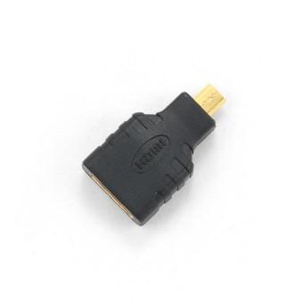 Redukcia HDMI na micro HDMI čierna