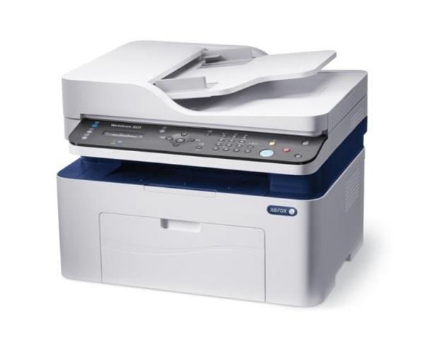 Xerox WorkCentre 3025_NI, mono MFP A4 tlaciaren, 20str/min, USB, Wifi, Fax, Lan