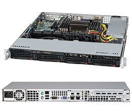 Supermicro Server SYS-6018R-MT 1U SP