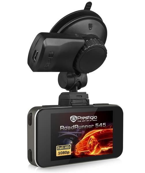 Prestigio Car Video Rekordér Roadrunner 545 1920x1080 FHD Video 2,7