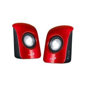 Genius repro SP-U115, prenosné, USB, červené