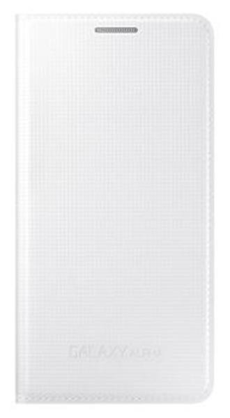 Samsung flipové púzdro pre Galaxy Alpha, biele