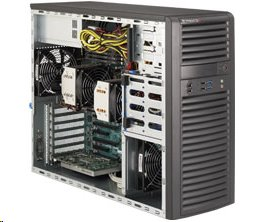Supermicro SuperWorkstationSYS-7037A-i dual CPU Xeon 900W tower