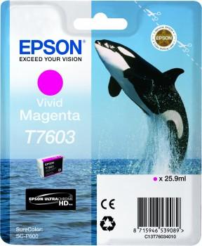 Epson atrament SC-P600 vivid magenta