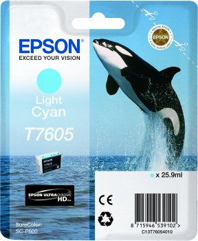Epson atrament SC-P600 light cyan