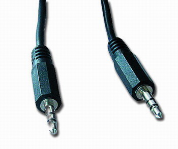 Kabel prípojný jack 3,5mm M/M, 3m, audio