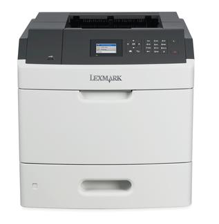 Lexmark MS810de, mono laser, 1200dpi, 52ppm, 512MB, 800MHz, USB, DUPLEX, GLan