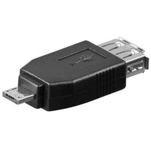 Redukcia USB A (F) - Micro USB (M)