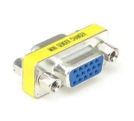 Redukcia FD15HD-FD15HD krátka VGA(F) - VGA(F) gender changer