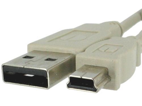Kábel USB A-MINI 5PM 2.0, 1m