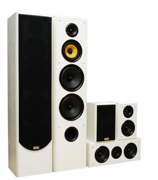 Taga Harmony TAV-606 v.3 White set - domáce kino