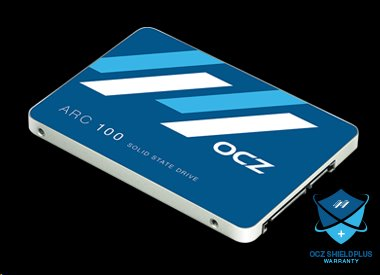 OCZ 480GB SSD ARC 100 Series SATA 3 6Gb/s, 2.5 Read/Write: 490 MB/s / 450 MB/s, IOPS: 75K/80K