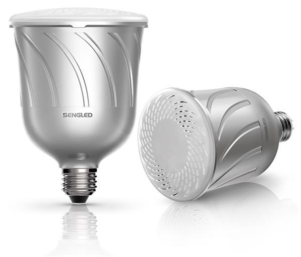 Sengled Pulse - inteligentná LED žiarovka s JBL reproduktorom - strieborná / 2ks