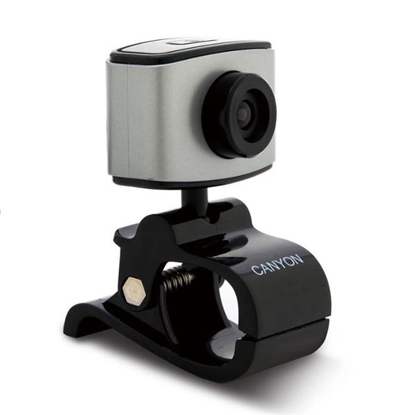 Canyon CNE-CWC2, Webkamera, HD 720p, CMOS, USB, mikrofón, 360° rozsah