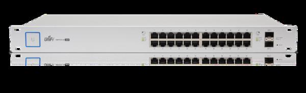 Ubiquiti US24-250W 24x1000Mbps + 2xSFP PoE/PoE+/PoE24V