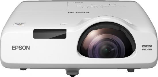 Epson projektor EB-525W, 3LCD, WXGA, 2800ANSI, 16000:1, HDMI, LAN, short