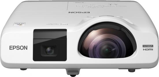 Epson projektor EB-536Wi, 3LCD, WXGA, 3400ANSI, 16000:1, HDMI, LAN, short