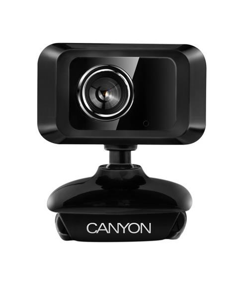 Canyon CNE-CWC1 webkamera, 1,3Megapixels, CMOS, USB, mikrofón, 360° rozsah