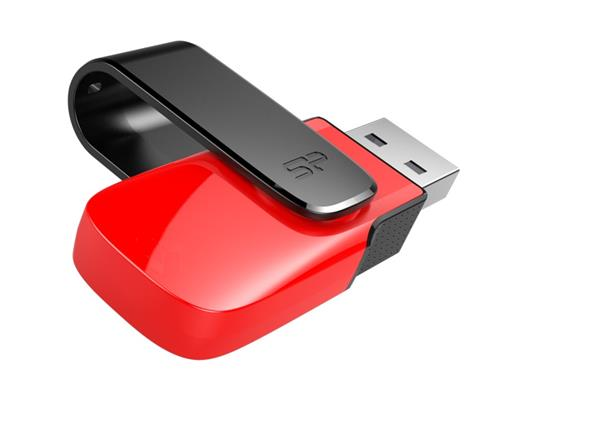 32 GB . USB kľúč ..... Silicon Power Ultima U31, červený