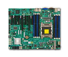 Supermicro Motherboard Xeon X10SRLF Single socket R (LGA 2011-R3) Intel® Dual Port Gigabit Ethernet