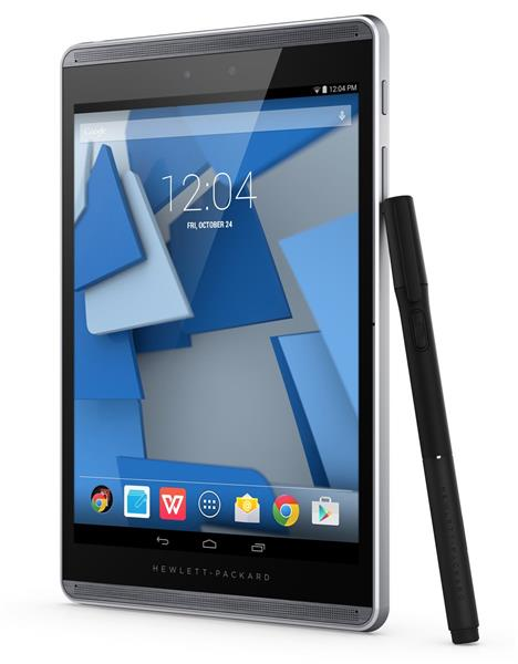 HP Pro Slate 8, APQ8074, 7.86 QXGA Touch, 2GB, 32GB, ac, BT, Android + pen