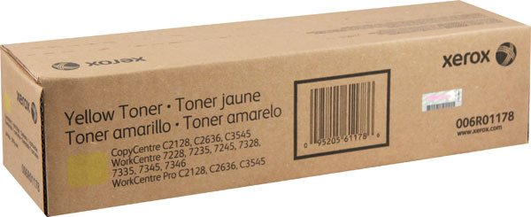 Xerox Yellow toner (15K) - WorkCentre 7228/7235/724507328/7335/7345