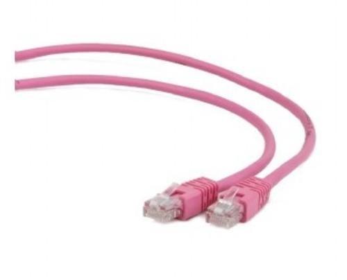 OEM patch kábel Cat5E, UTP - 2m , ružový