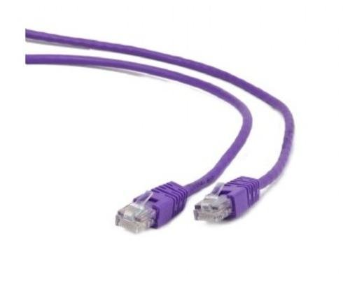 OEM patch kábel Cat5E, UTP - 5m , fialový