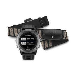 Garmin fénix® 3, Gray Performer Bundle