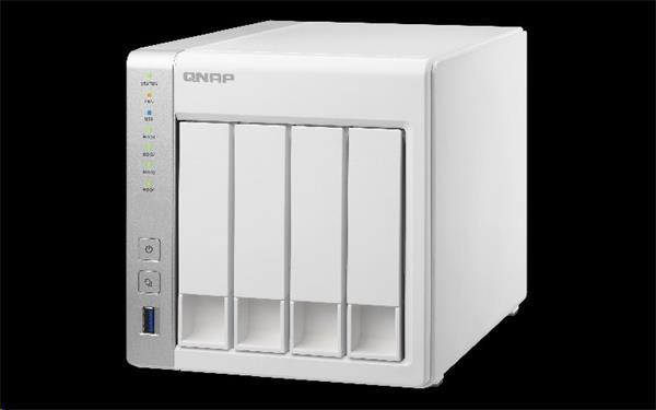 QNAP™ TS-431+ 4-Bay TurboNAS, ARM Cortex-A15 dual-core 1.4Ghz, 1GB RAM, HW encryption SATA 6Gb/s, 2x GbE LAN, 3 x USB3.0