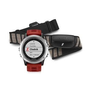 Garmin fénix® 3, Silver Performer Bundle
