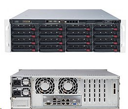 Supermicro Storage Server SSG-6038R-E1CR16N 4U DP