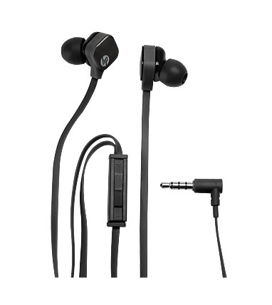 HP In Ear H2310 Black Headset