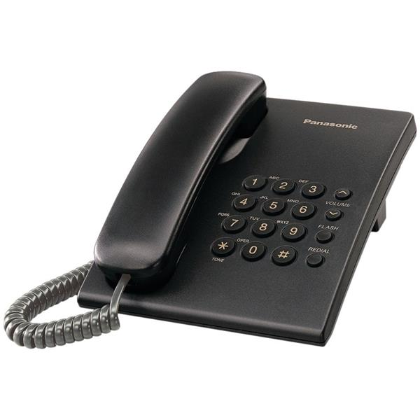 Panasonic KX-TS500FXB jednolinkovy telefon - čierny