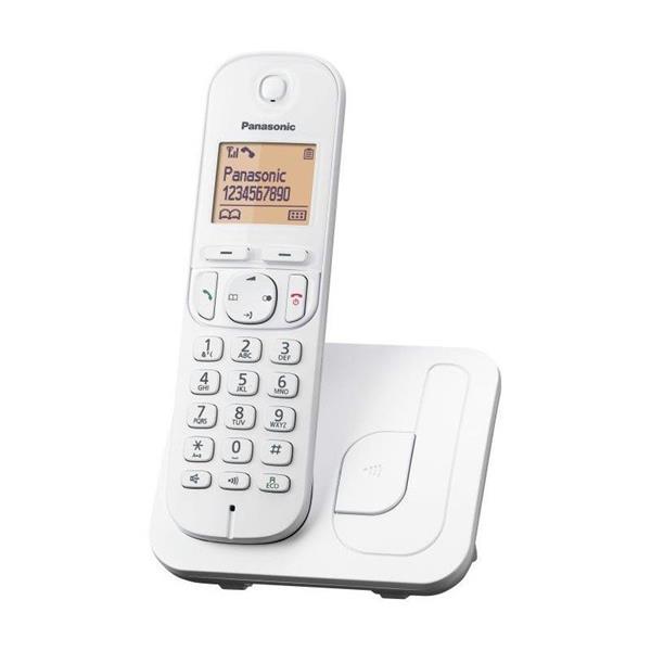 Panasonic KX-TGC210FXW telefon bezsnurovy DECT / biely 1x