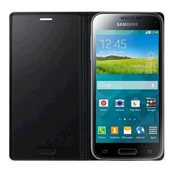 Samsung flipové púzdro pre Galaxy S5 mini, Čierne