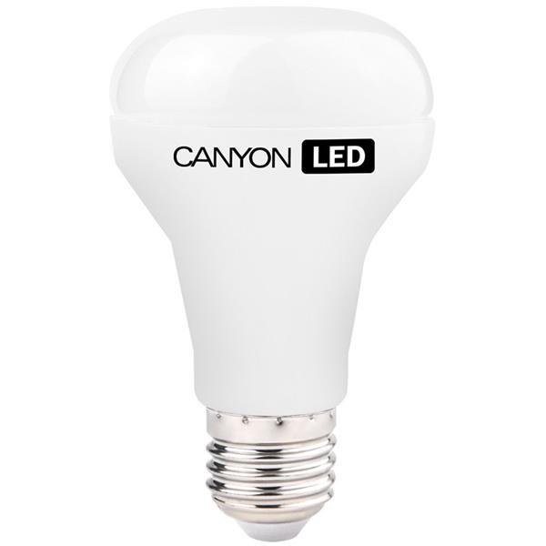 Canyon LED COB žiarovka, E27, reflektor mliečna 6W, 470lm, teplá biela 2700K, 220-240V, 120°, Ra>80, 50.000 hod
