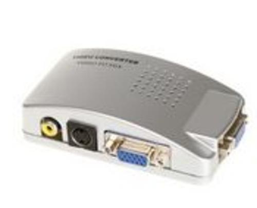 Dátový prepínač VGA splitter, rozbočovač 1PC-2VGA 350MHz