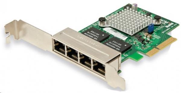 Supermicro AOC-SGP-I4, quad-port Gigabit PCI-e x4 LP NIC Card, Intel® i350