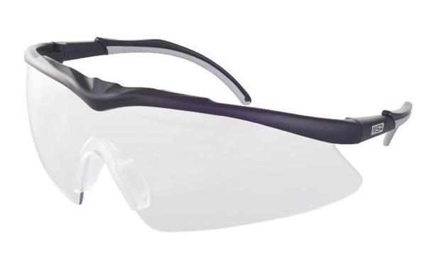 MSA TecTor okuliare, číre sklá, OptiRock - povrchová úprava, UV400