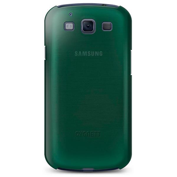 Cygnett, obal Form pre Samsung Galaxy S III, štíhly, pevný, zelený