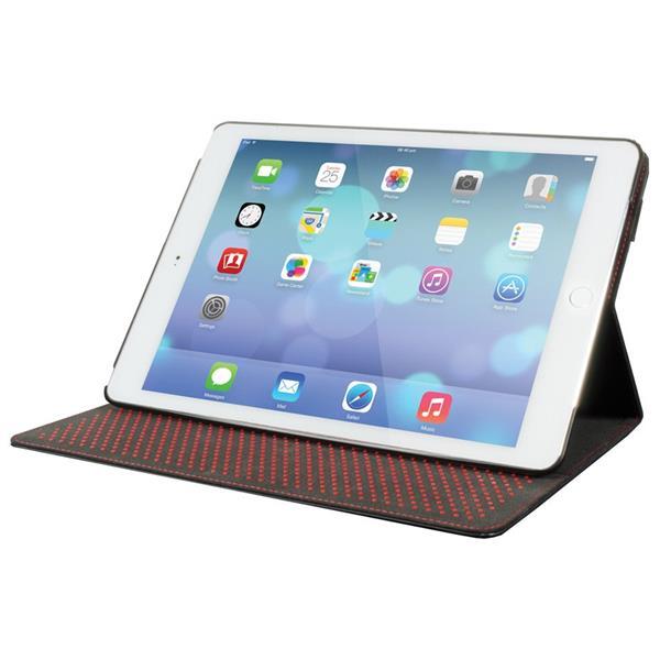 Cygnett Slim Folio, obal/stojan pre iPad Air 2,dizajn diár, PU koža, čierny
