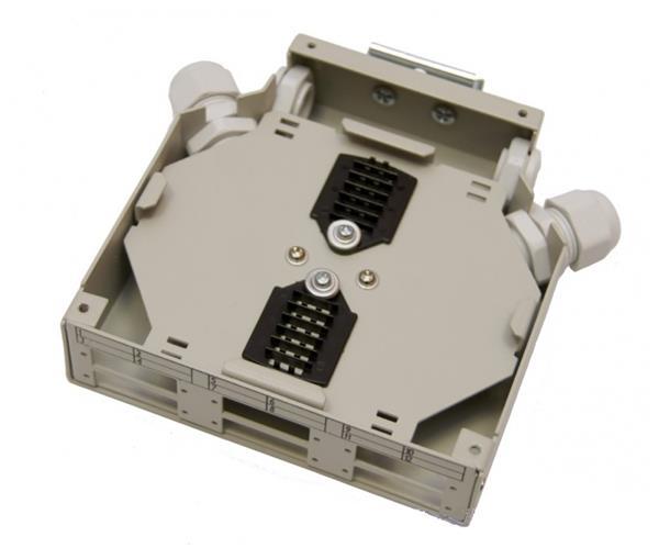 OEM optický DIN BOX 12 vláken pro 6xSC Duplex
