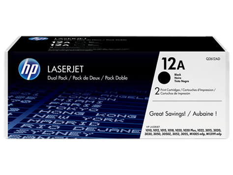 HP 312A 3-pack CYM Original LaserJet Toner Cartridges (CF440AM)