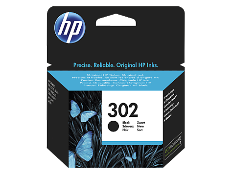 HP 302 Black Ink Cartridge