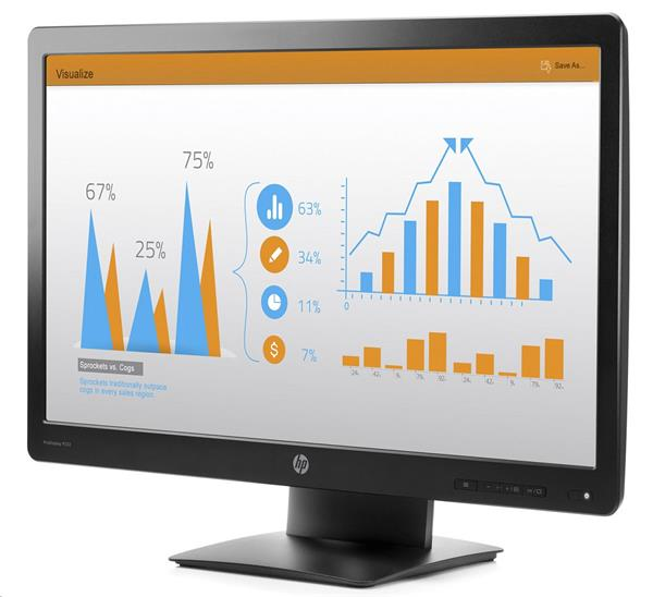 HP ProDisplay P232, 23, TN LED, 1920x1080 FHD, 1000:1, 5ms, 250cd, VGA, DP