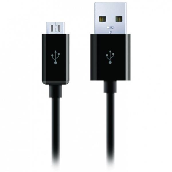 Cygnett prémiový nabíjací a synchronizačný kábel microUSB/USB, 2m, čierny
