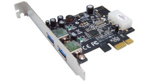 ST-LAB U-710 PCIE 2x USB3.0 interná karta NEC chipset (2x externý konektor) radič