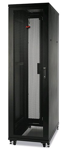 Rack NetShelter SV 42U 600mm Wide x 1200mm Deep Enclosure with Sides Black